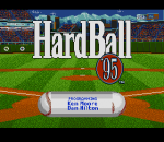 HardBall '95 title screenshot