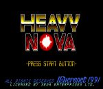 Heavy Nova title screenshot