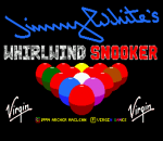 Jimmy White's Whirlwind Snooker title screenshot