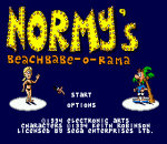 Normy's Beach Babe-O-Rama title screenshot