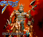 Onslaught title screenshot