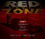 Red Zone title screenshot