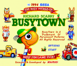 Richard Scarry's Busytown title screenshot