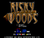 Risky Woods title screenshot