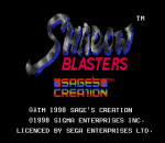 Shadow Blasters title screenshot