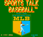 Sports Talk Baseball title screenshot