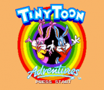 Tiny Toon Adventures - Buster's Hidden Treasure title screenshot