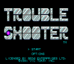 Trouble Shooter title screenshot