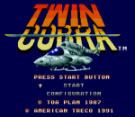 Twin Cobra - Desert Attack Helicopter title screenshot