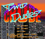 Two Crude Dudes title screenshot