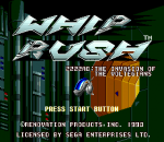 Whip Rush title screenshot