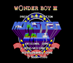 Wonder Boy III - Monster Lair title screenshot