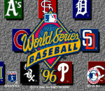 World Series Baseball '96 title screenshot