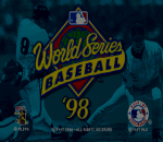World Series Baseball 98 title screenshot