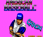 American Baseball title screenshot