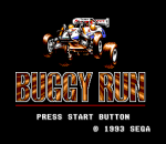 Buggy Run title screenshot