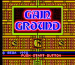 Gain Ground title screenshot