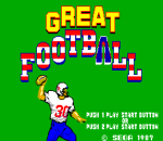 Great Football title screenshot