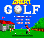 Great Golf title screenshot
