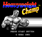 Heavyweight Champ title screenshot
