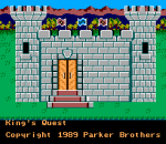 King's Quest - Quest for the Crown title screenshot