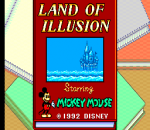 Land of Illusion Starring Mickey Mouse title screenshot