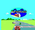 Out Run title screenshot