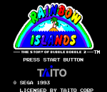 Rainbow Islands - The Story of Bubble Bobble 2 title screenshot