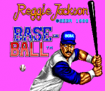 Reggie Jackson Baseball title screenshot