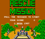 Rescue Mission title screenshot