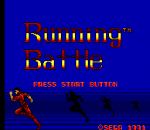 Running Battle title screenshot