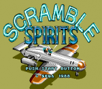 Scramble Spirits title screenshot