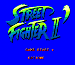 Street Fighter 2 title screenshot