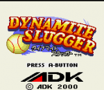 Dynamite Slugger title screenshot