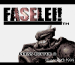 Faselei ! title screenshot