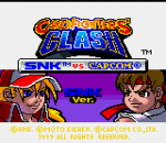 SNK vs. Capcom - Card Fighters' Clash - SNK Version title screenshot
