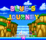 Blue's Journey title screenshot
