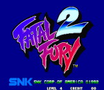 Fatal Fury 2 title screenshot