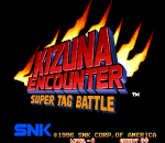 Kizuna Encounter title screenshot