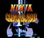 Ninja Commando title screenshot