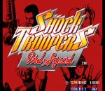 Shock Troopers : 2nd Squad title screenshot