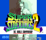 Super Sidekicks 2 : The World Championship title screenshot