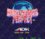 World Heroes Perfect title screenshot