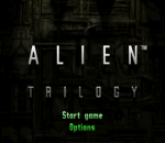 Alien Trilogy title screenshot