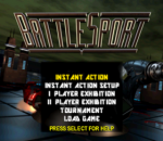 BattleSport title screenshot