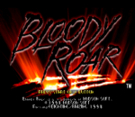 Bloody Roar title screenshot