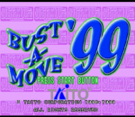 Bust-A-Move 3 DX - Bust-A-Move '99 title screenshot