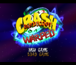 Crash Bandicoot 3 - Warped title screenshot