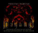 Diablo title screenshot