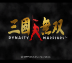 Dynasty Warriors title screenshot